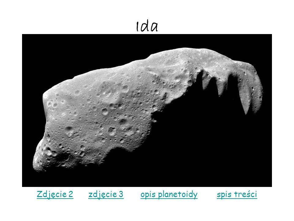 Ida Zdjęcie 2Zdjęcie 2 zdjęcie 3 opis planetoidy spis treścizdjęcie 3opis planetoidyspis treści