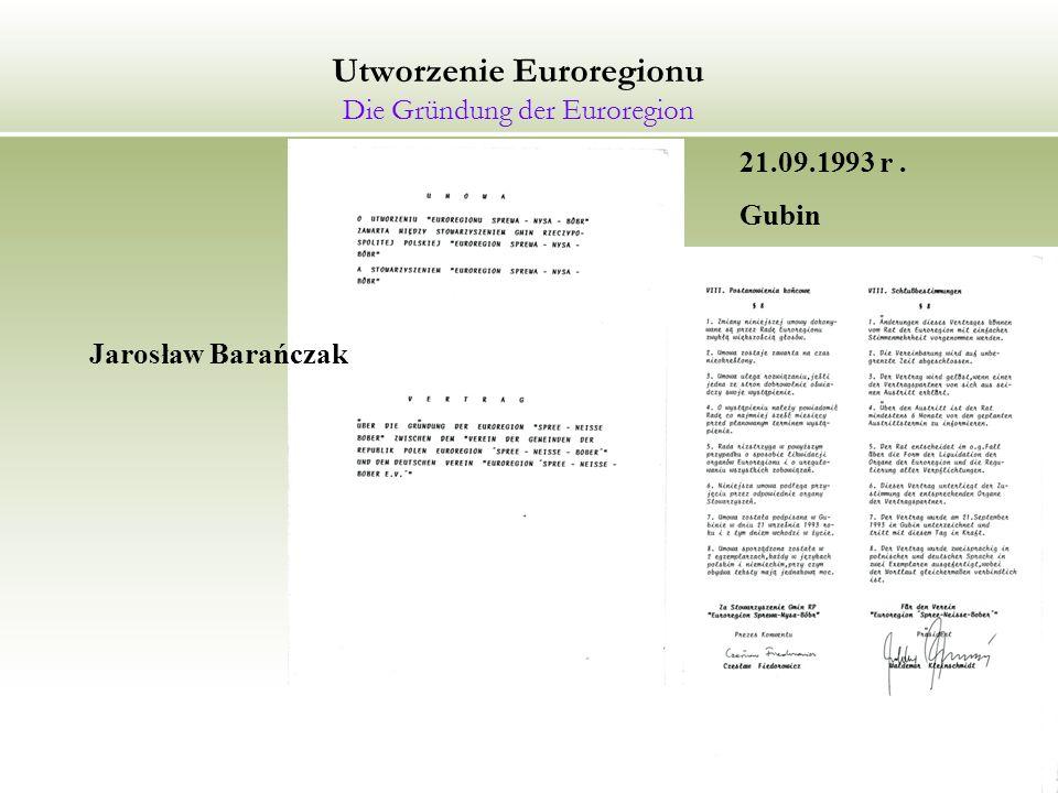 Prezentacja Euroregionu Sprewa-Nysa-Bóbr Präsentation der Euroregion Spree-Neiße-Bober Berlin 02.03.2006 r.