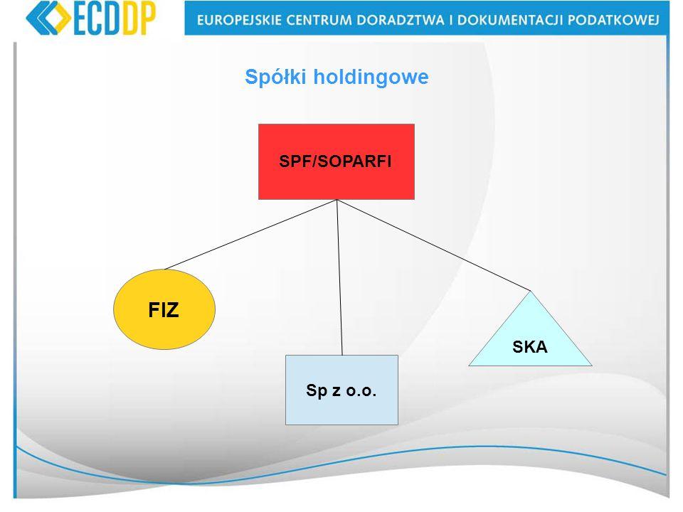 47 SPF/SOPARFI Spółki holdingowe FIZ Sp z o.o. SKA
