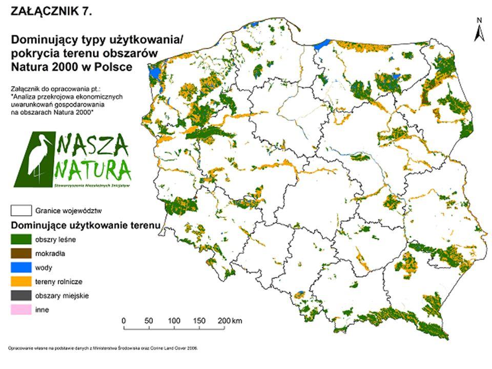 Negatywne aspekty wdrożenia sieci: Natura 2000 w świadomości społecznej - wpływ obszarów Natura 2000 zlokalizowanych na terenie gminy na jej rozwój w opinii wójtów i burmistrzów Źródło: B.
