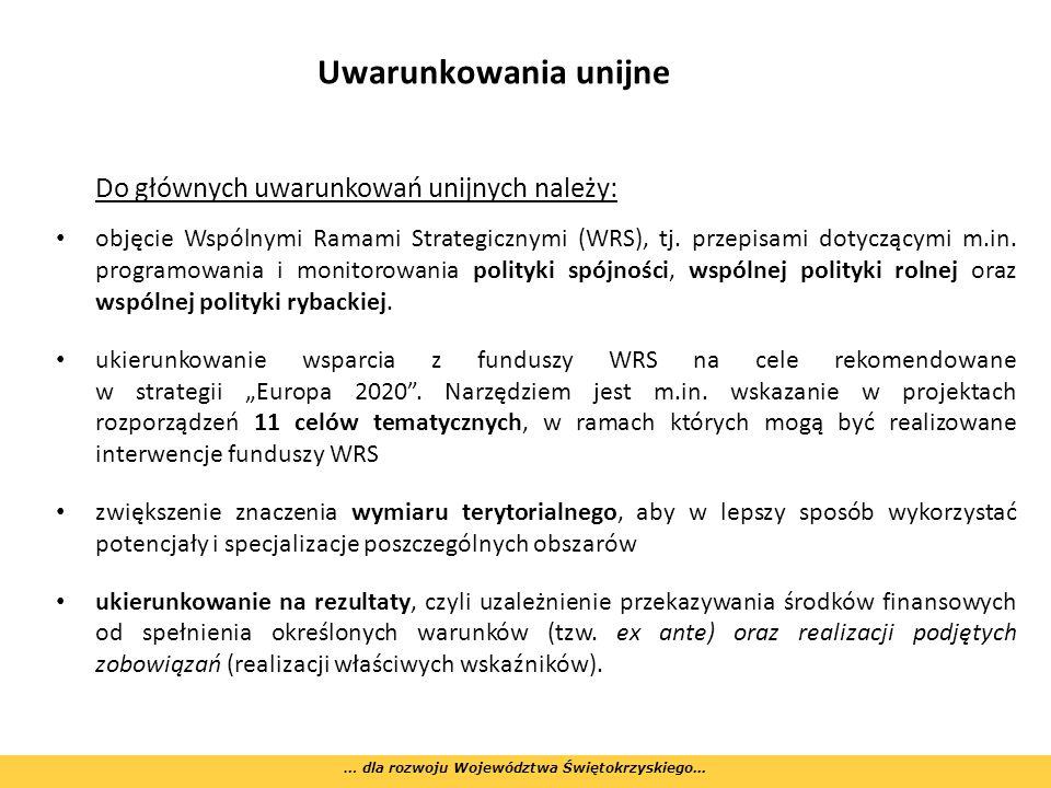 Wyzwania i kwestie do rozstrzygnięcia zastosowanie finansowania krzyżowego (cross financing) w Programach Operacyjnych – brak ostatecznego przyzwolenia Komisji Europejskiej na to rozwiązanie – zagrożenie dla jakości i kompleksowości wielu typów projektów, w tym w ramach EFS, Przewidywany brak wsparcia dla projektów wodno-ściekowych w PROW 2014-2020 (poza aglomeracjami) – brak rozstrzygnięcia w tej sprawie – dylemat w jaki sposób zaplanować zakres wsparcia w RPOWŚ 2014-2020.