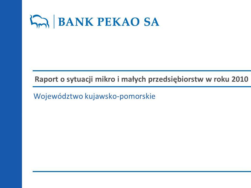 Raport o sytuacji mikro i małych przedsiębiorstw w roku 2010 Województwo kujawsko-pomorskie