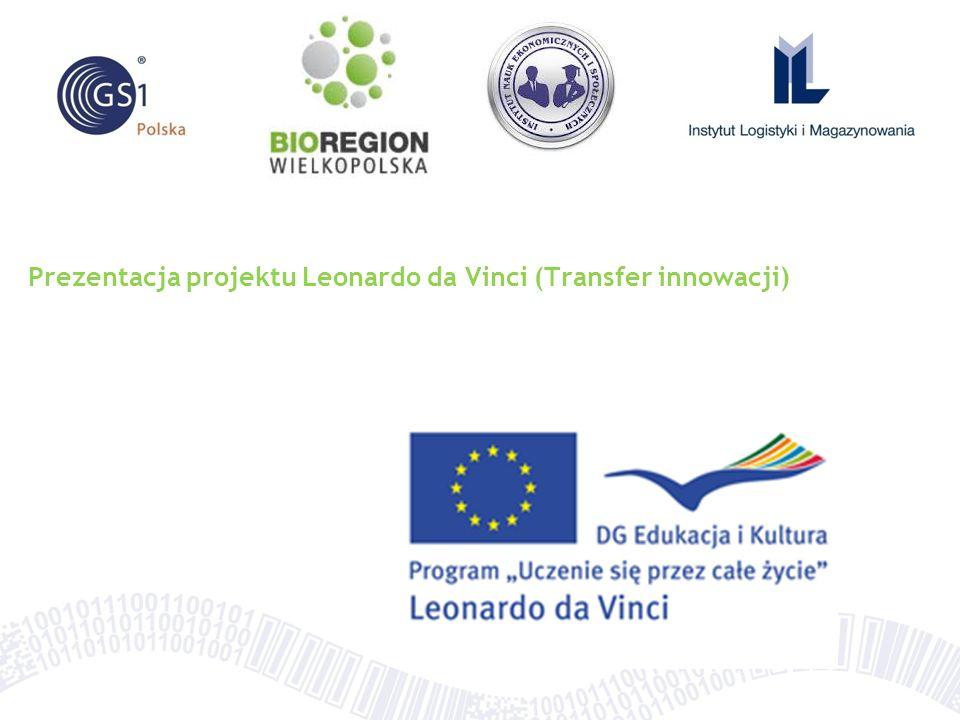 Prezentacja projektu Leonardo da Vinci (Transfer innowacji)