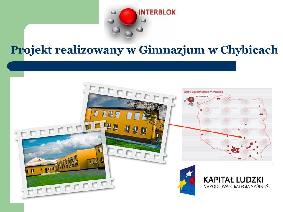 Projekt realizowany w Gimnazjum w Chybicach