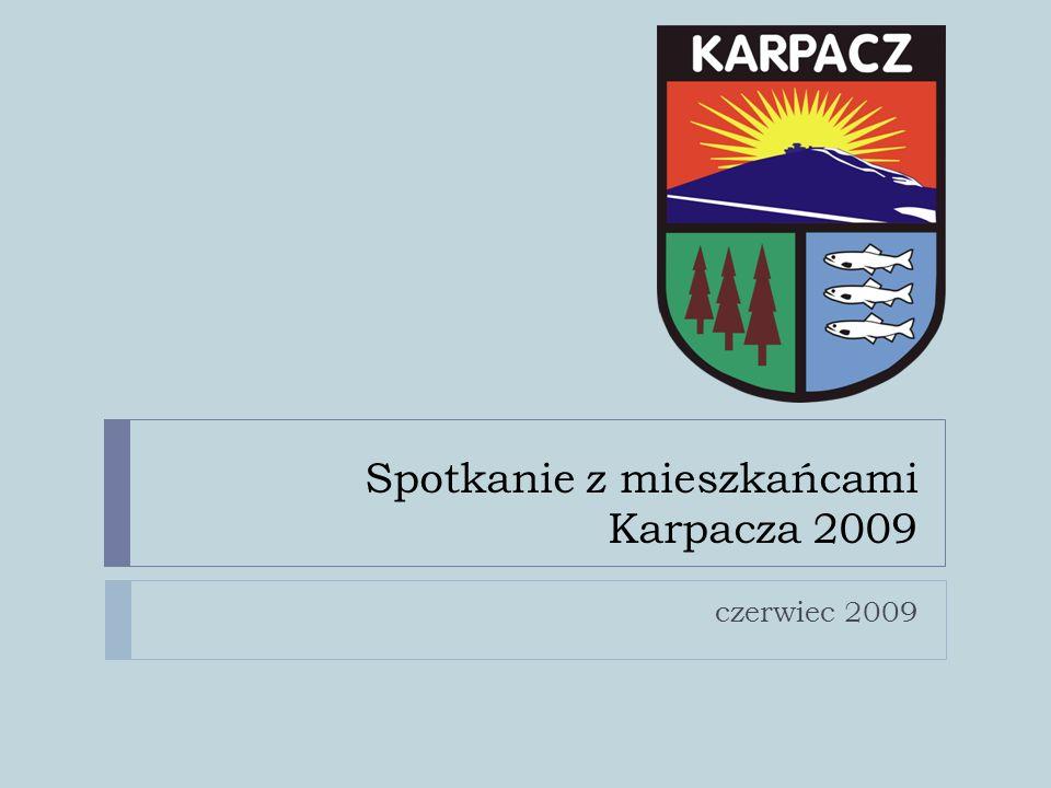 Spotkanie z mieszkańcami Karpacza 2009 czerwiec 2009
