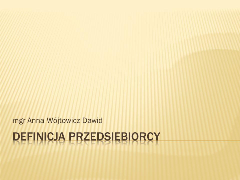 mgr Anna Wójtowicz-Dawid