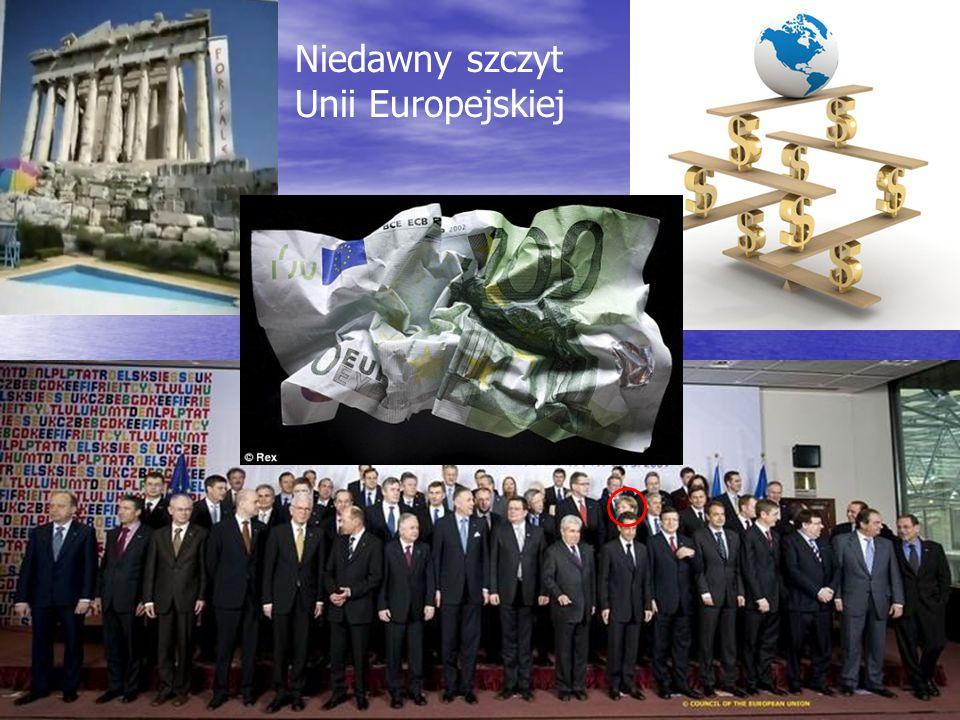 Rybinski.eu 5 Niedawny szczyt Unii Europejskiej