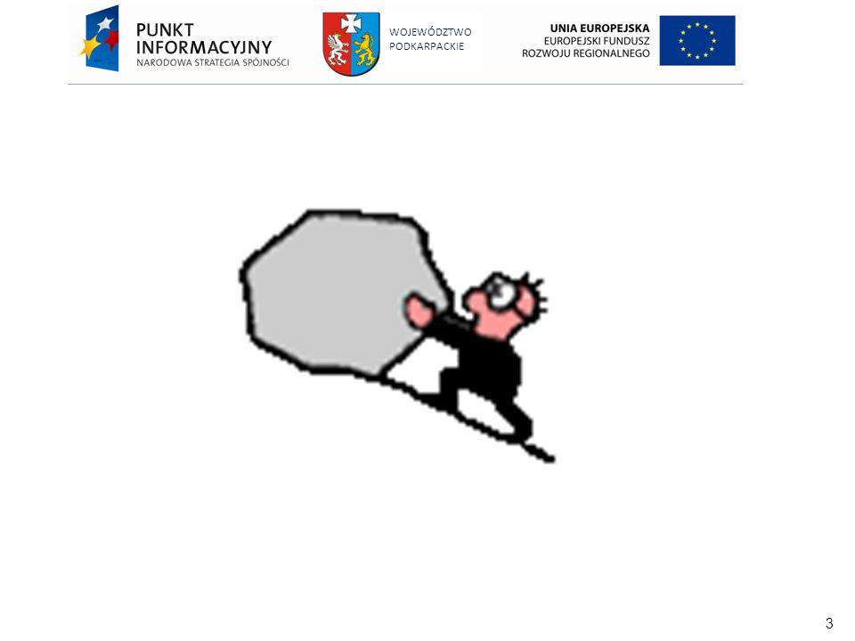 94 WOJEWÓDZTWO PODKARPACKIE Nieprawidłowości niepodlegające raportowaniu Nie ma konieczności informowania Komisji Europejskiej (OLAF) o: nieprawidłowościach odnoszących się do kwot poniżej 10000 EUR, nieprawidłowościach zgłoszonych dobrowolnie w formie pisemnej przez beneficjenta przed ich wykryciem przez odpowiednie instytucje, zarówno przed jak i po dokonaniu płatności, popełnieniu błędu w odniesieniu do zakwalifikowania projektu do dofinansowania, jednak błąd wykryto przez wypłatą środków błędzie lub zaniedbaniu, które zostało wykryte przed dokonaniem płatności i nie skutkuje żadnymi karami administracyjnymi ani sądowymi.