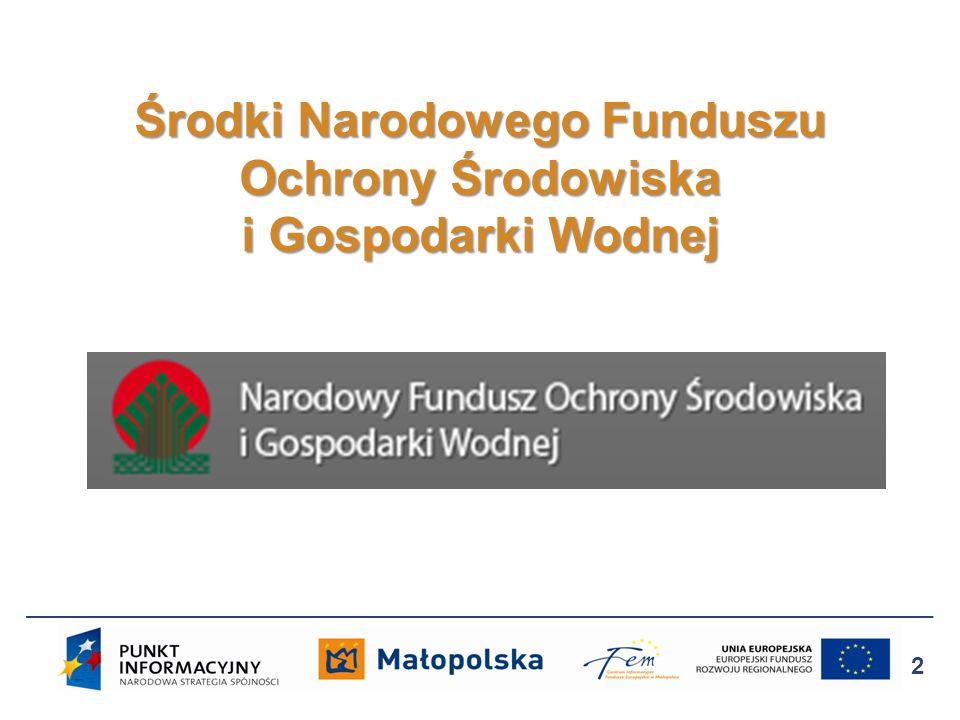 Źródło wsparcia: Środki krajowe, program Efektywne wykorzystanie energii.