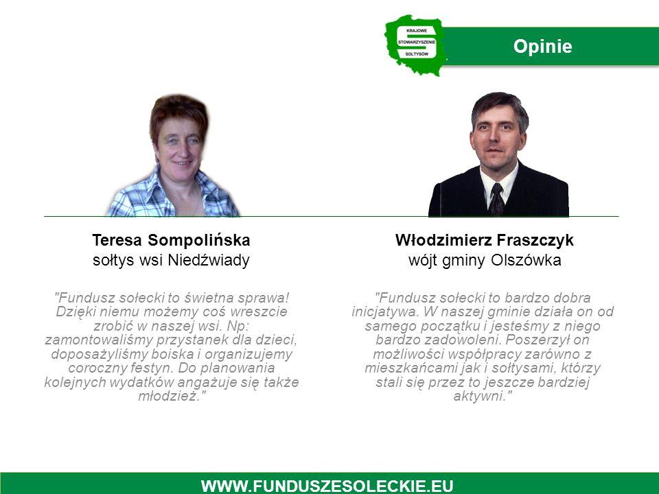 Włodzimierz Fraszczyk wójt gminy Olszówka