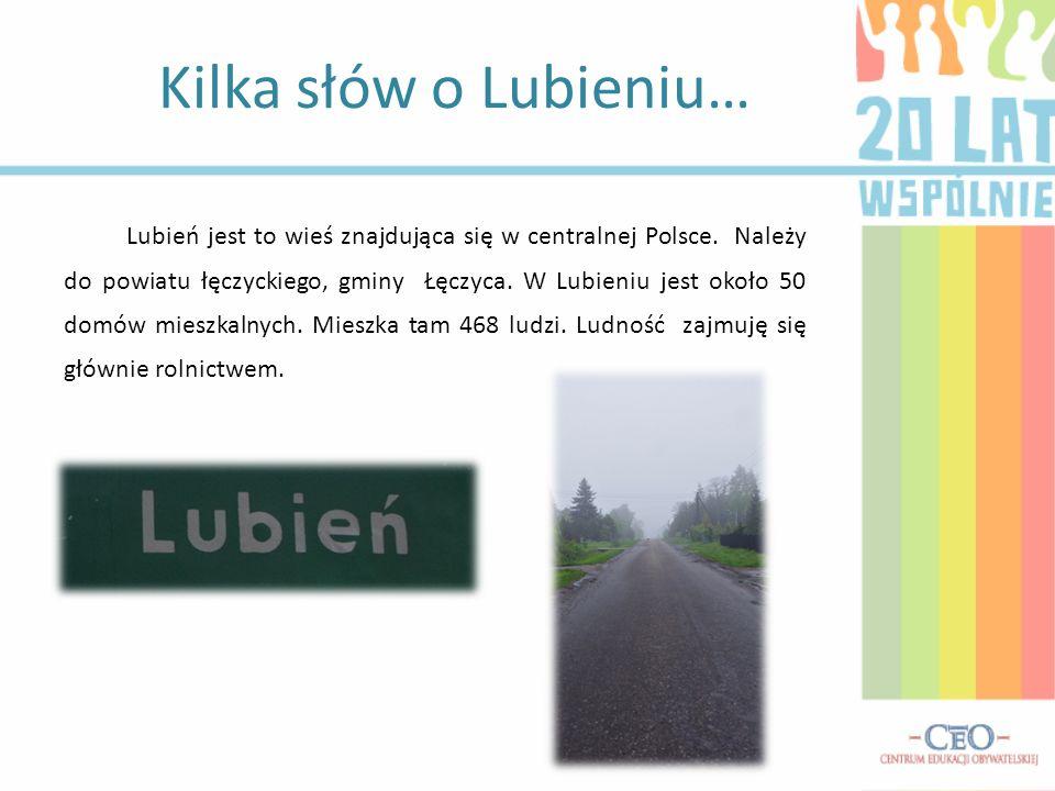 Lubień jest to wieś znajdująca się w centralnej Polsce.