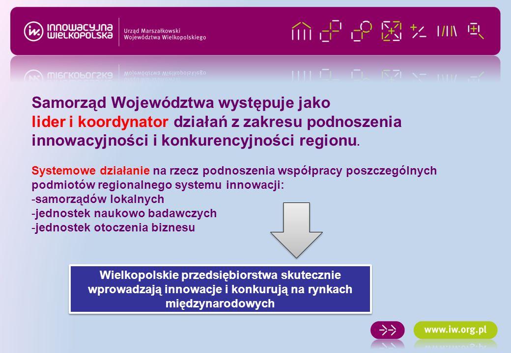 Wspieramy Wielkopolskie Klastry - INNOWACJE SAMOOCENA www.iw.org.pl / SAMOOCENA www.iw.org.pl