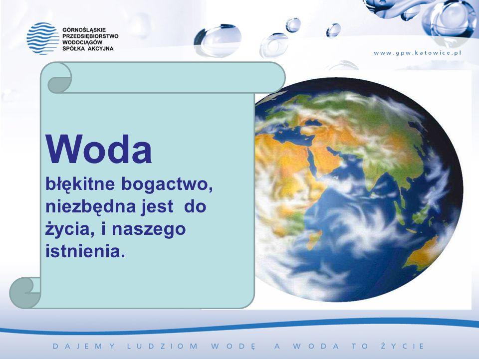 Woda błękitne bogactwo, niezbędna jest do życia, i naszego istnienia.
