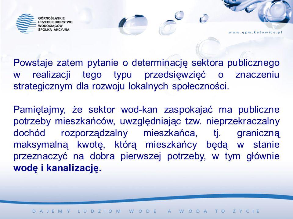 Powstaje zatem pytanie o determinację sektora publicznego w realizacji tego typu przedsięwzięć o znaczeniu strategicznym dla rozwoju lokalnych społeczności.