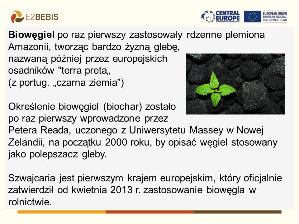 Biowęgiel jest produktem pirolizy - termicznej obróbki biomasy lub odpadów organicznych (np.