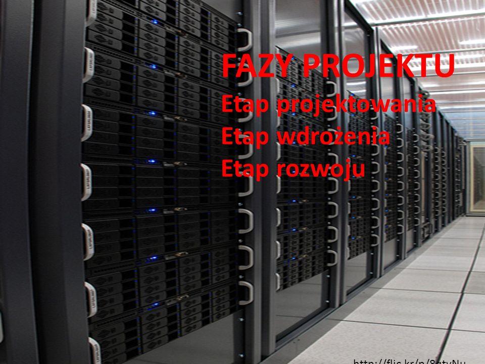 FAZY PROJEKTU Etap projektowania Etap wdrożenia Etap rozwoju http://flic.kr/p/8qtvNu