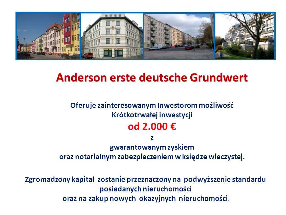 Zgromadzony kapitał zostanie przeznaczony na podwyższenie standardu posiadanych nieruchomości oraz na zakup nowych okazyjnych nieruchomości.