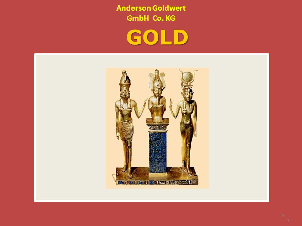 Anderson Goldwert GmbH Co. KG GOLD 9 9