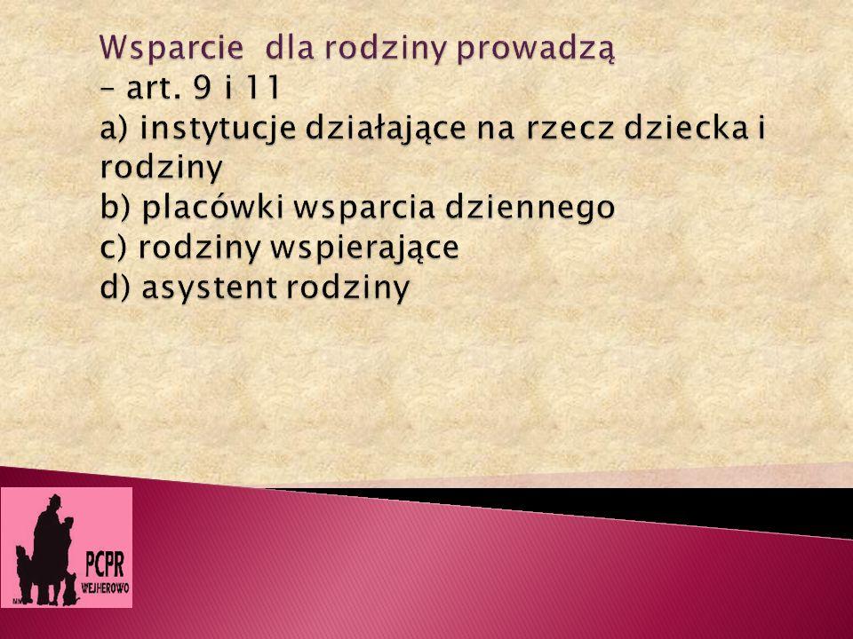 Liczba dzieci z poszczególnych gmin w pieczy zastępczej – stan na 31.08.2011 3.