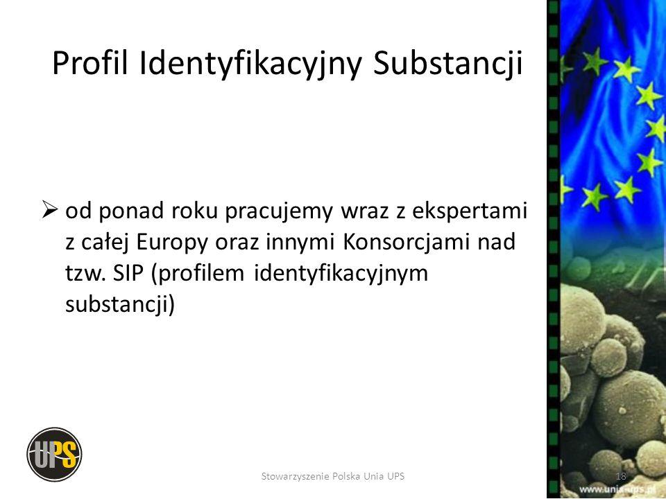 Profil Identyfikacyjny Substancji od ponad roku pracujemy wraz z ekspertami z całej Europy oraz innymi Konsorcjami nad tzw. SIP (profilem identyfikacy
