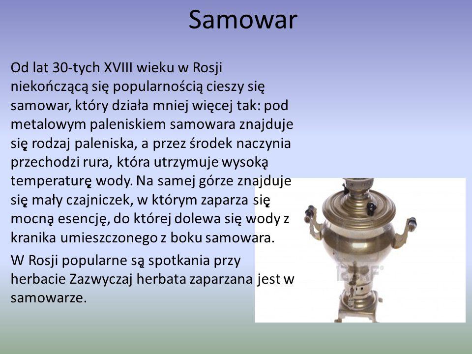 Matrioszki Matrioszka to charakterystyczny element rosyjskiej kultury ludowej.