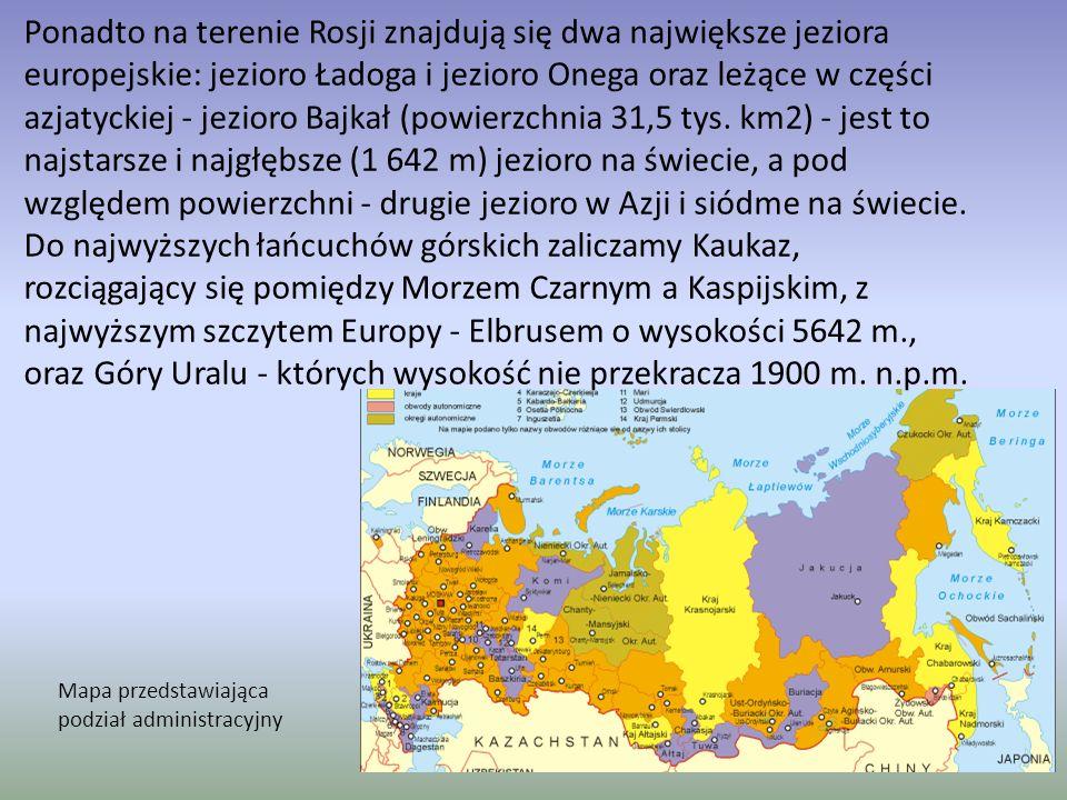 Położenie geograficzne Federacja Rosyjska jest największym państwem świata zajmującym powierzchnię 17 098,2 tys.
