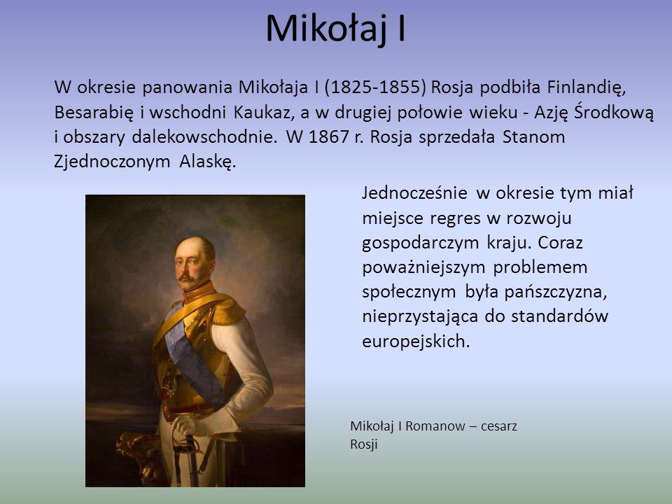 Panowanie Piotra I Wielkiego Piotr I Wielki Szczególny rozwój Rosji nastąpił w okresie panowania Piotra I Wielkiego (1682-1725).