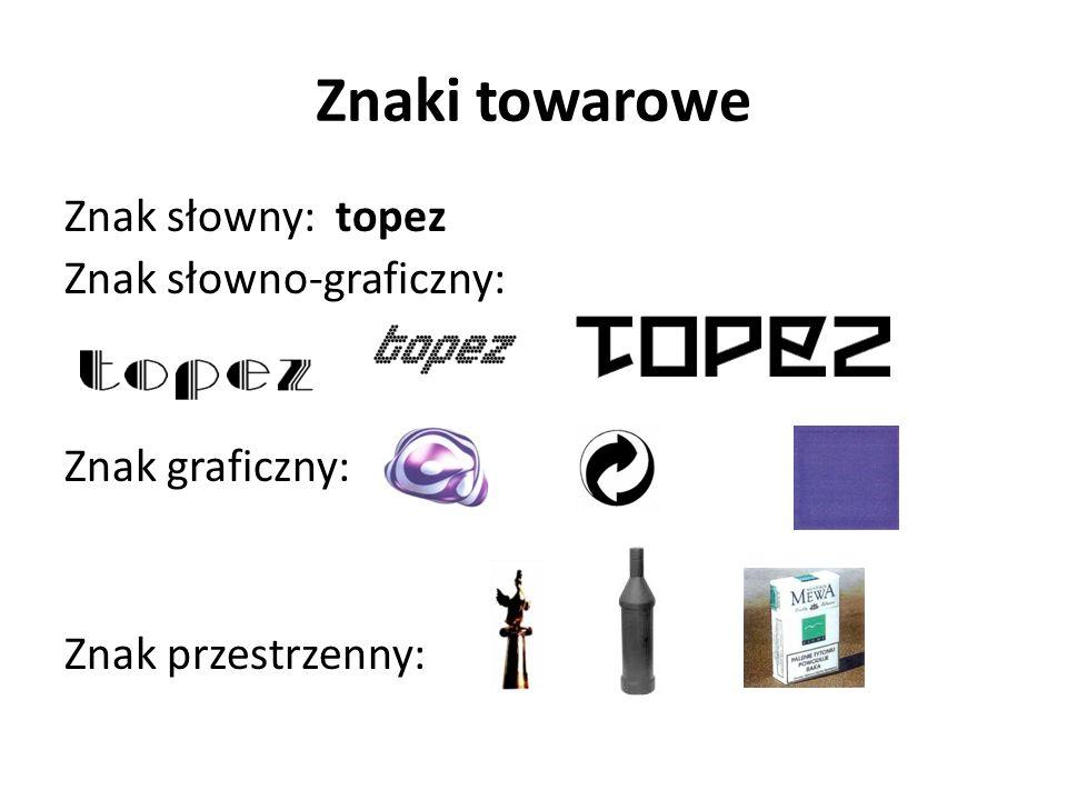 Prawa wyłączne Przez uzyskanie patentu/prawa ochronnego/ prawa z rejestracji nabywa się prawo wyłącznego korzystania z wynalazku/ wzoru użytkowego/ wzoru przemysłowego w sposób zarobkowy lub zawodowy na całym obszarze Rzeczypospolitej Polskiej, czyli: wyłączność wytwarzania, używania, oferowania, wprowadzania do obrotu lub importowania dla tych celów produktu będącego przedmiotem wynalazku lub