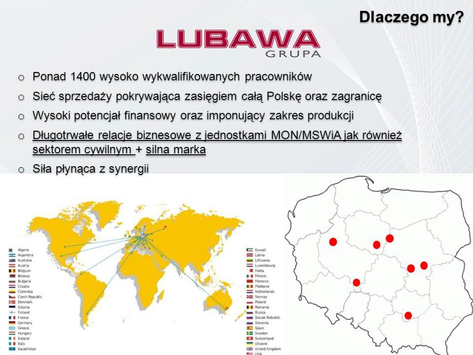 o Ponad 1400 wysoko wykwalifikowanych pracowników o Sieć sprzedaży pokrywająca zasięgiem całą Polskę oraz zagranicę o Wysoki potencjał finansowy oraz