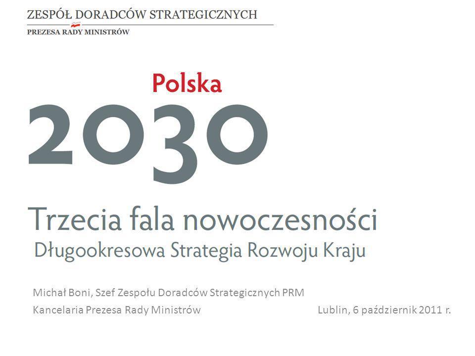 Michał Boni, Szef Zespołu Doradców Strategicznych PRM Kancelaria Prezesa Rady Ministrów Lublin, 6 październik 2011 r.