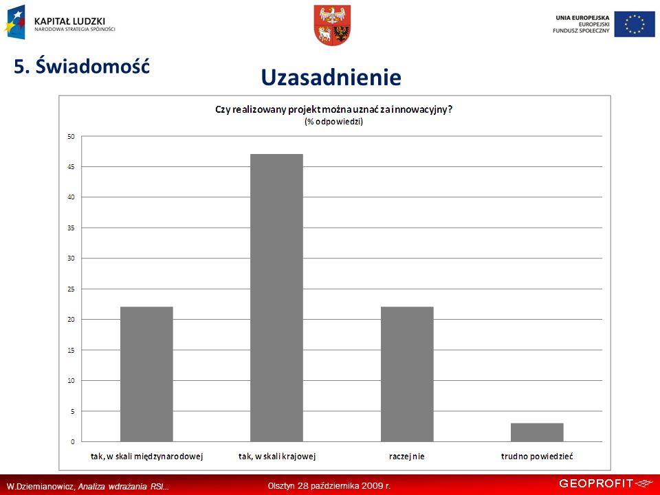 W.Dziemianowicz, Analiza wdrażania RSI... 5.