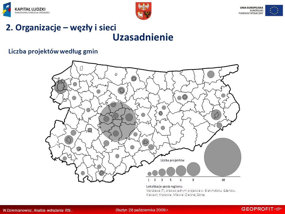 W.Dziemianowicz, Analiza wdrażania RSI... Uzasadnienie Olsztyn 28 października 2009 r.