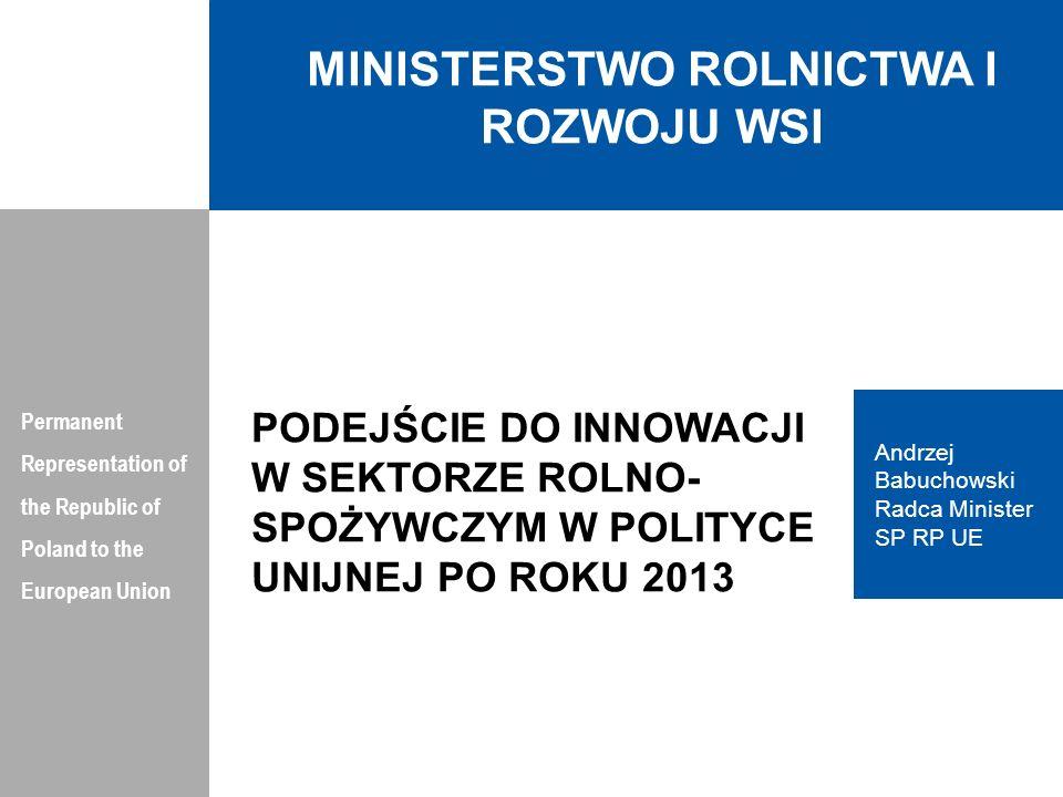 PLAN PREZENTACJI Permanent Representation of the Republic of Poland to the European Union 1.