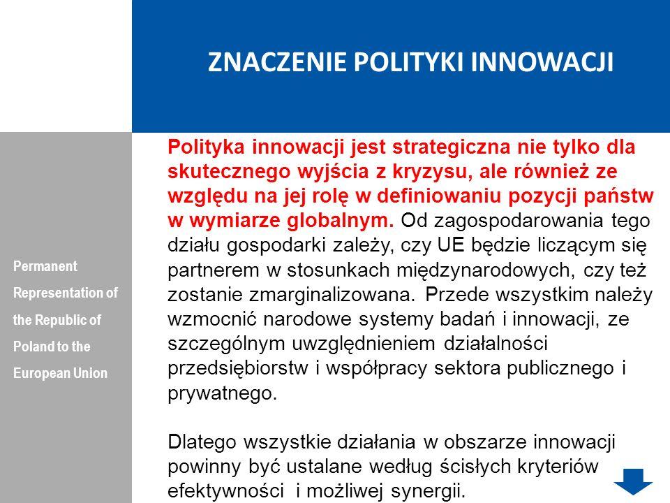Pozycja naukowa krajów mierzona liczbą priorytetowych tematów badawczych w obszarze żywności, rolnictwa i rybołówstwa w regionach NUTS-2 w krajach ERA Permanent Representation of the Republic of Poland to the European Union Dziękuję Państwu za Uwagę
