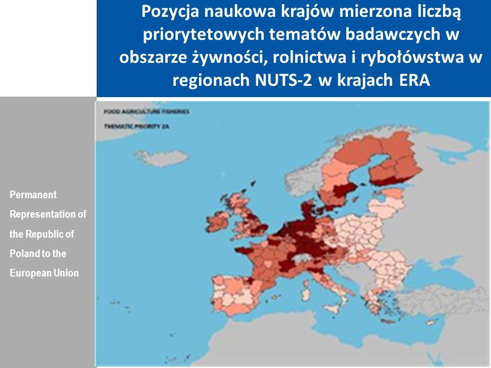 Indeks konkurencyjności regionów UE, w roku 2010 Permanent Representation of the Republic of Poland to the European Union Dziękuję Państwu za Uwagę