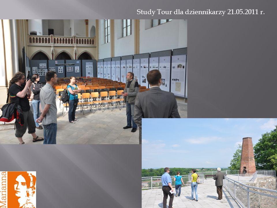 15 Study Tour dla dziennikarzy 21.05.2011 r.