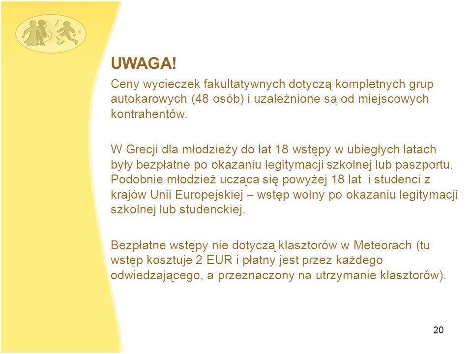 20 UWAGA.