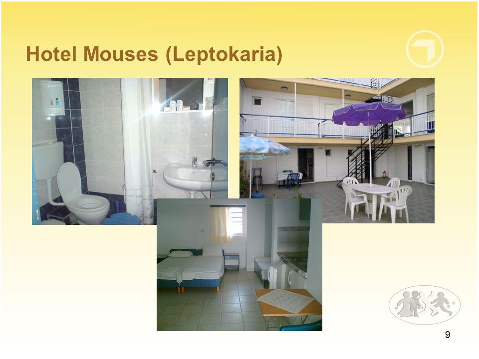10 Cena wypoczynku obejmuje następujące świadczenia: 9 noclegów (Hotel Mouses) 3 posiłki dziennie (śniadanie, obiad, kolacja; Hotel Mouses) przejazd komfortowym autokarem ubezpieczenie NNW (5.000 zł) i KL (8.800 EUR) obsługę pilota-rezydenta
