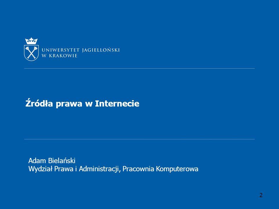 Prawo Unii Europejskiej Dostęp do zasobów prawa Unii Europejskiej możliwy jest poprzez stronę: http://eur-lex.europa.eu/http://eur-lex.europa.eu/ (jest tam również wersja polskojęzyczna) Dziennik Urzędowy Unii Europejskiej: http://publications.europa.eu/official/index_pl.htm Wyszukiwarka dokumentów Unii Europejskiej: http://www.europa.eu/rapidhttp://www.europa.eu/rapid (tylko wersja w języku angielskim i francuskim) 3