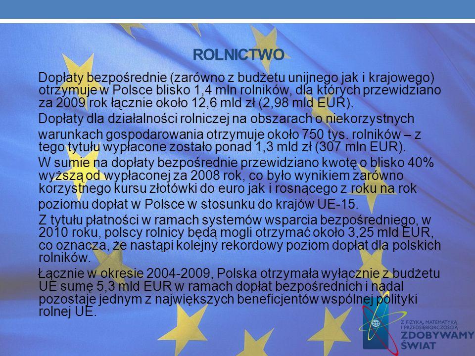Polska jest zdecydowanym liderem we wdrażaniu funduszy UE. Wartość środków przekazanych przez Komisję (zaliczek i refundacji) przekroczyła 9,59 mld EU