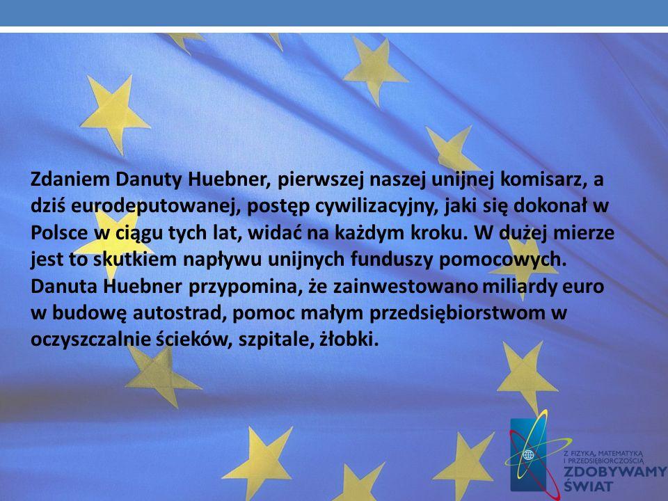 Leszek Miller mówi, że Polska doskonale wykorzystała sześć lat obecności w strukturach unijnych, co - zdaniem byłego premiera - widać po zmieniającym