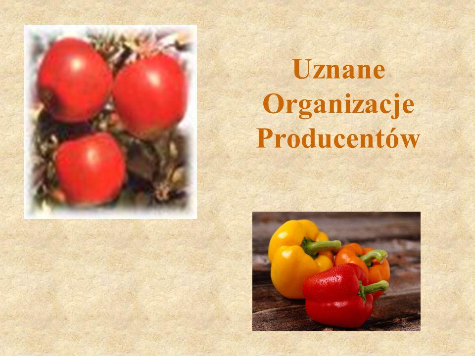Uznane Organizacje Producentów