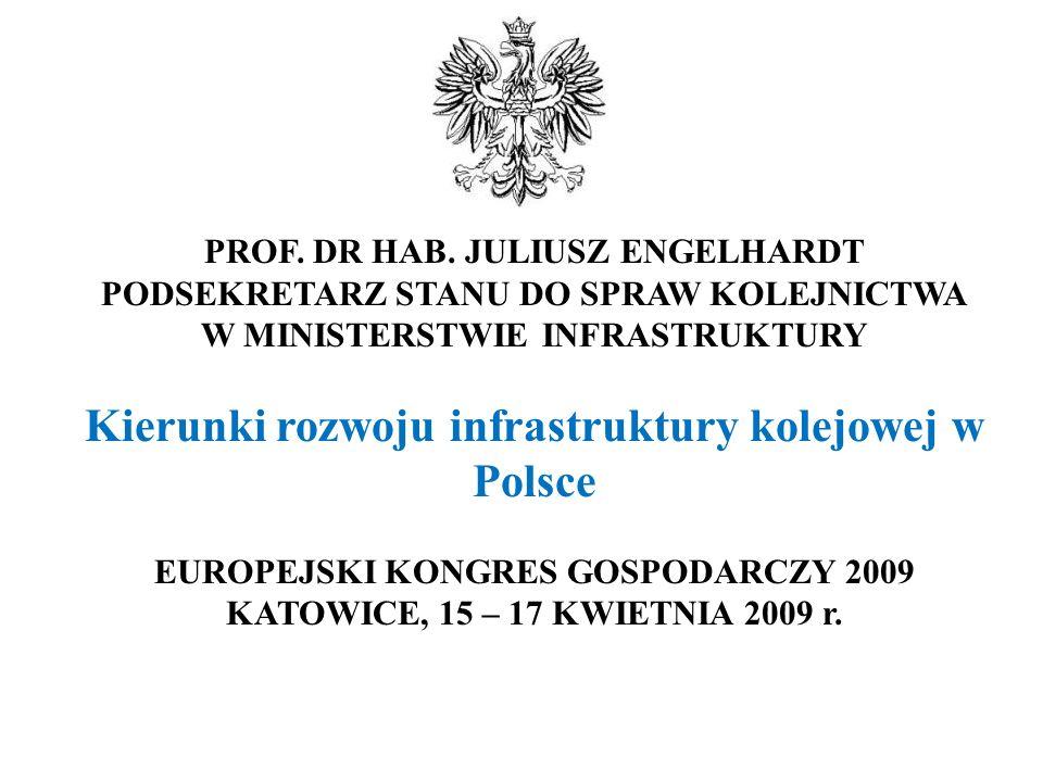 Obecnie, główne kierunki rozwoju transportu w Polsce określa Polityka Transportowa Państwa na lata 2006-2025, przyjęta przez Radę Ministrów 29 czerwca 2005 r.