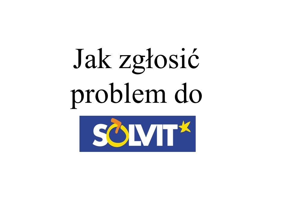 Jak zgłosić problem do