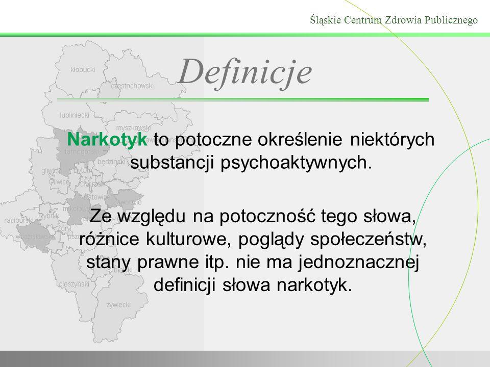 Narkotyk to potoczne określenie niektórych substancji psychoaktywnych. Ze względu na potoczność tego słowa, różnice kulturowe, poglądy społeczeństw, s