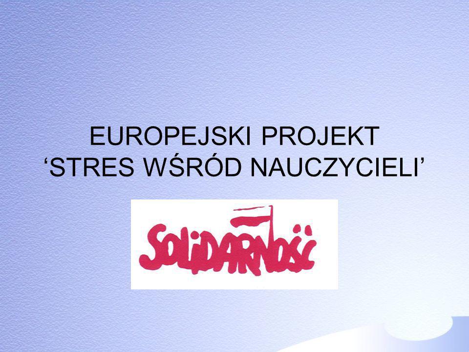 ANKIETA Wskaźniki/ skutki stresu (skala 1-5) EUROPA Wypalenie zawodowe (3,6), Wysoka absencja/zachorowalność (3,6), Problemy ze snem/ bezsenność(2,5), Choroby krążenia/ choroby serca (2,5), Częste konflikty interpersonalne (2,4),