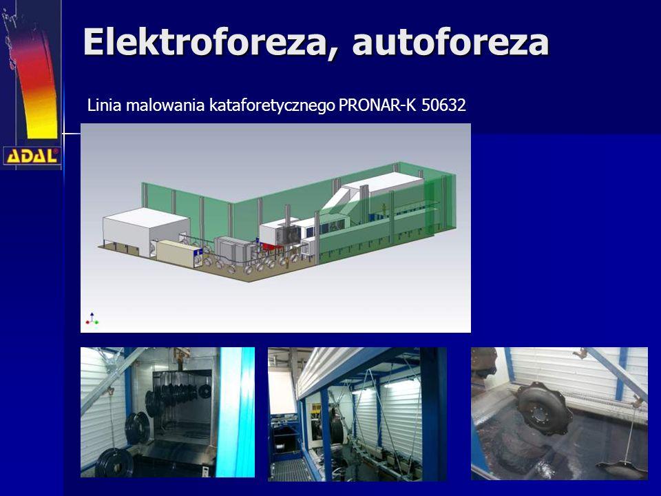 Elektroforeza, autoforeza Linia malowania kataforetycznego PRONAR-K 50632