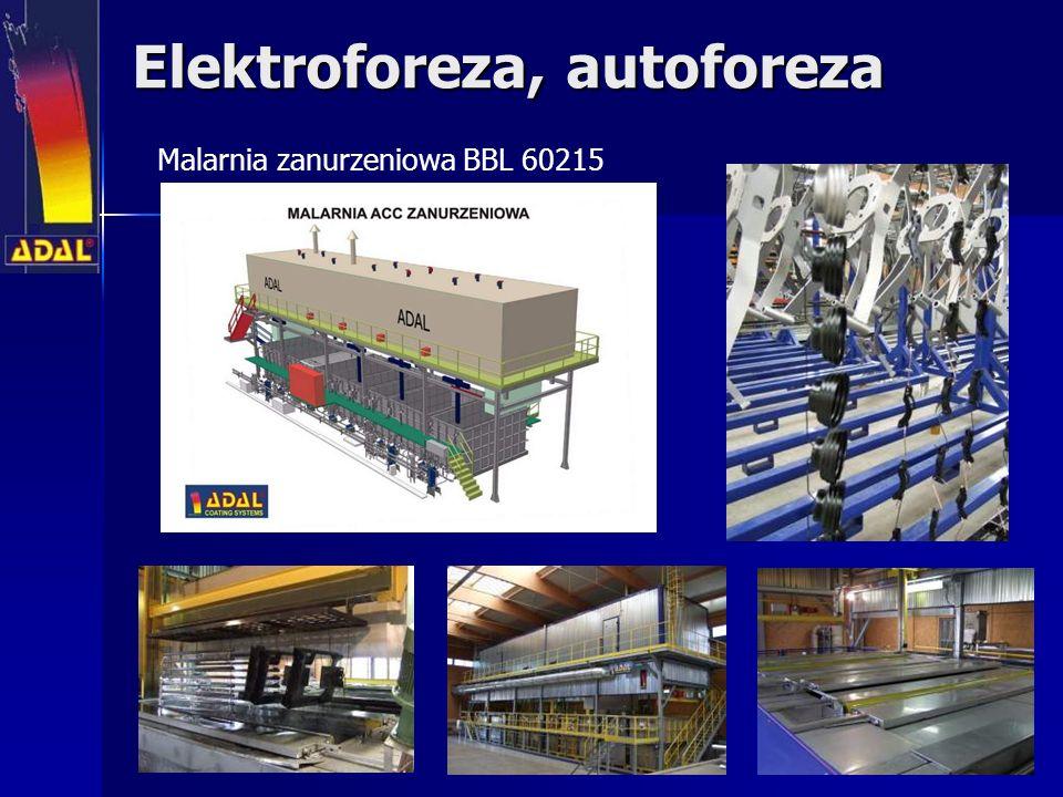 Elektroforeza, autoforeza Malarnia zanurzeniowa BBL 60215