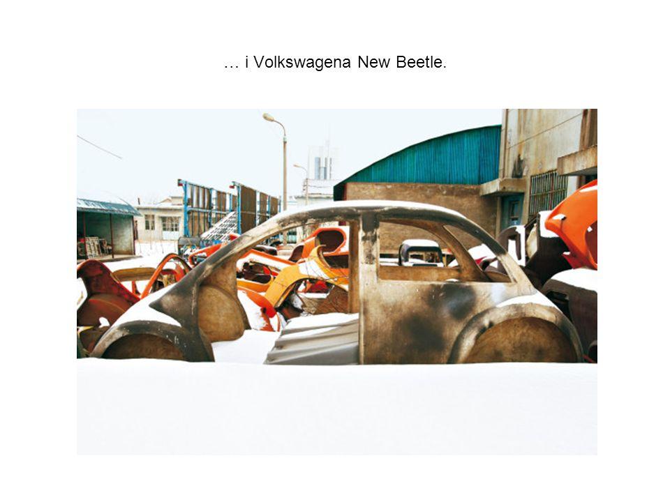 … i Volkswagena New Beetle.