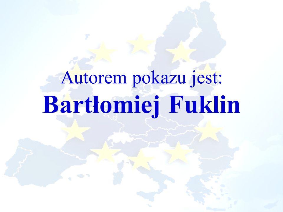 Autorem pokazu jest: Bartłomiej Fuklin